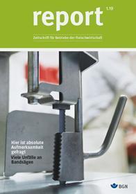 Titel Report 1.2019 Fleischwirtschaft