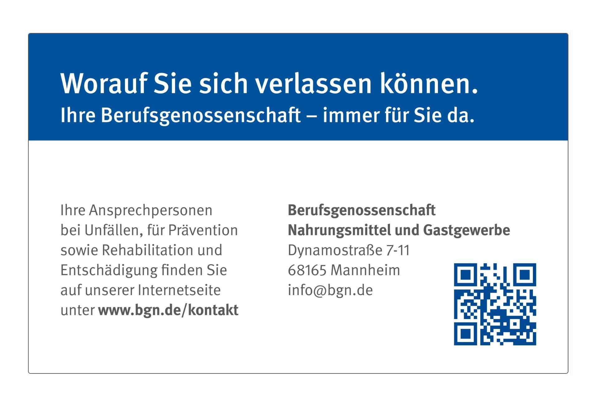"BGN Versichertenkarte ""Standard"""