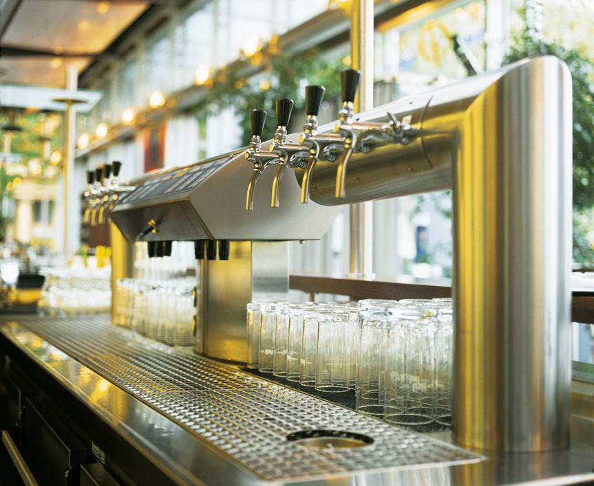 Getränkeschankanlage Zapfeinrichtung