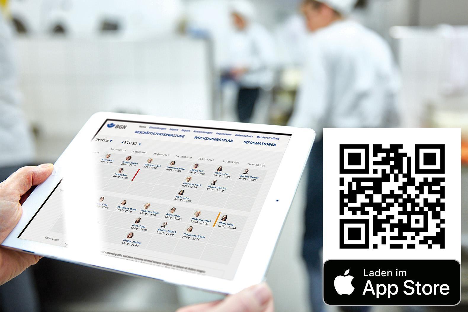 BGN-Dienstplan-APP für iOS