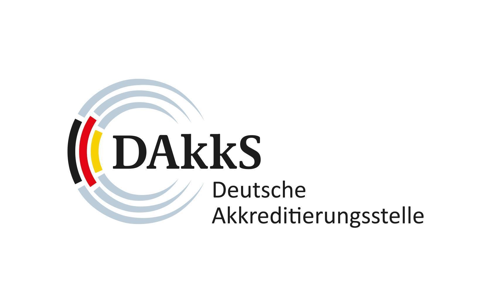 Logo Deutsche Akkreditierungsstelle (DAkkS)
